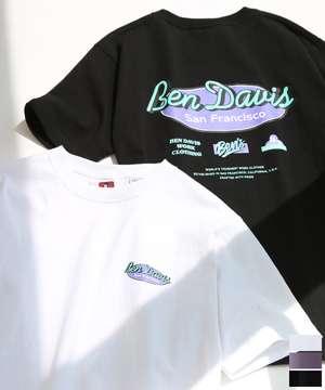 オーバルロゴプリントTシャツ