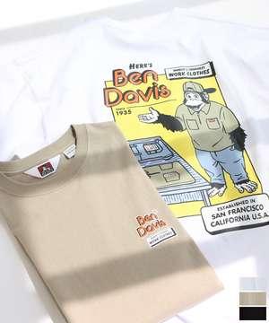HERE'Sプリント ビッグTシャツ